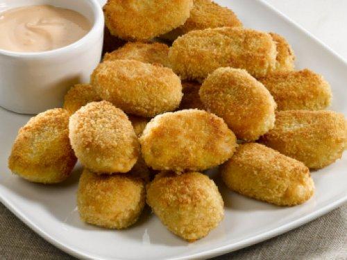 Croquetas de pollo con queso